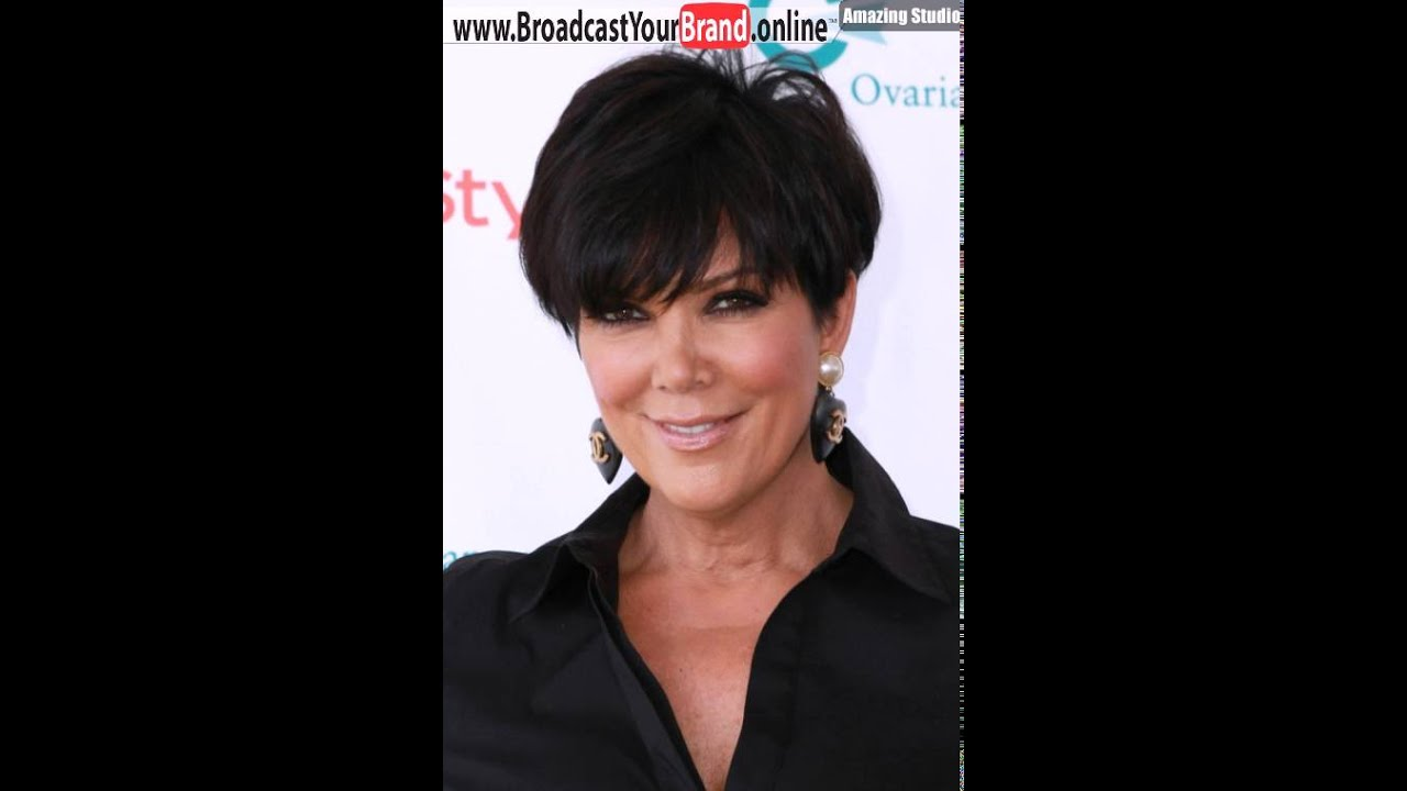 Kris jenner haircuts youtube kris jenner haircuts urmus Image collections