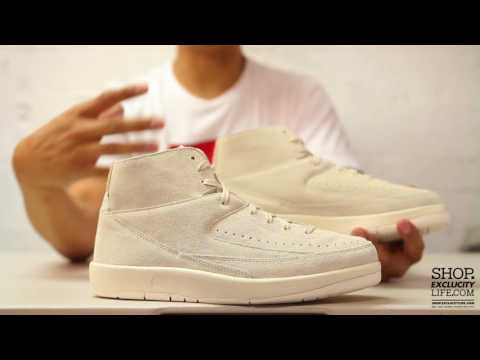 finest selection 069ed 26251 Air Jordan 2 Retro Deconstruct Sail Unboxing Video at Exclucity