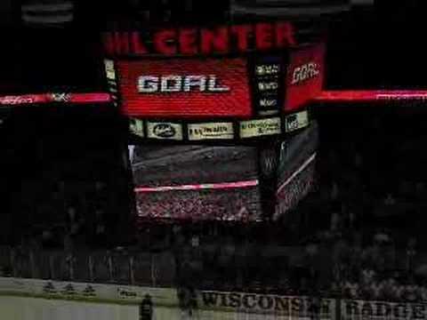 Wisconsin Badgers Hockey Sieve Cheer