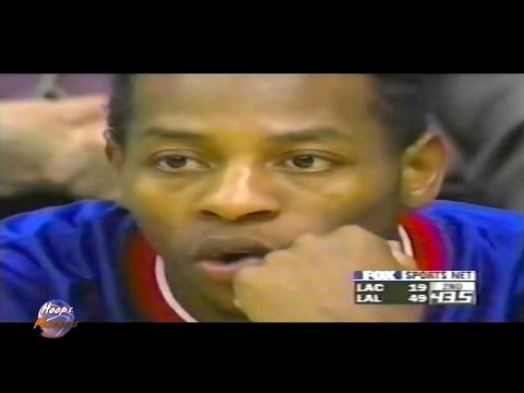 Worst NBA Records - LA Clippers 19 pts in a Half (3 pts in 2nd Quarter)