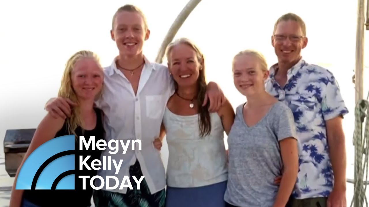 This Family Traded Life On Land To Sail The World! | Megyn Kelly TODAY