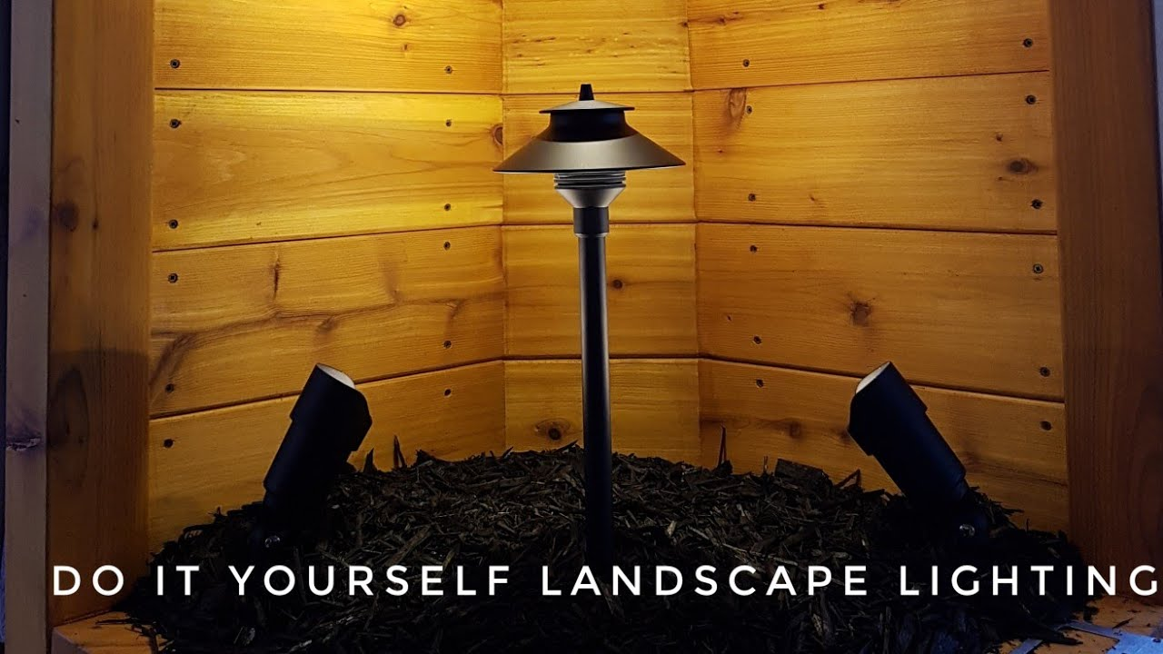 Do It Yourself Lighting: Do It Yourself Low Voltage Landscape Lighting Installation