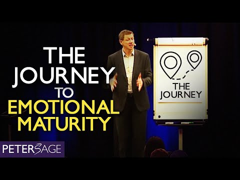 The journey to emotional maturity