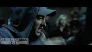 eminem (8 mile movie) parking lot rap