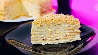 Сметанник-классический рецепт. Самый вкусный сметанный торт