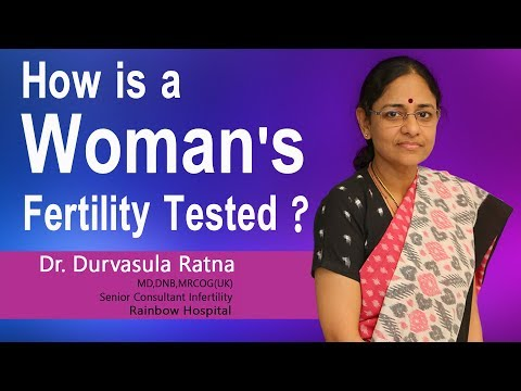 Hi9 | How is a Woman's Fertility Tested? | Dr.Ratna D, Consultant Infertility