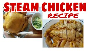 HOW TO COOK STEAM CHICKEN    Beshy Vang