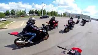 Moto wedding GoPro Мотосвадьба Альметьевск 2016(Nagimov Production)