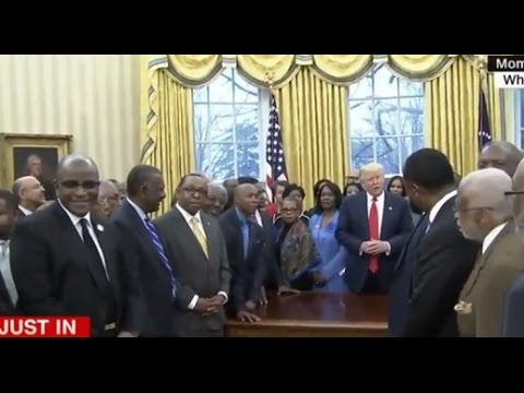 02/27 President Donald Trump Meets With Black College & University Presidents At White House