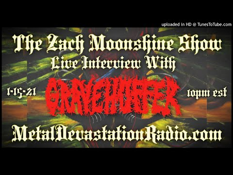 Gravehuffer - NecroEclosion Interview 2021 - The Zach Moonshine Show
