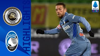 Close match between spezia and atalanta ends in goals, with 4 shots on target for 2   serie a timthis is the official channel t...