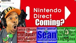 Nintendo Direct Coming?