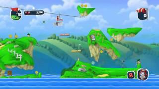 Worms Crazy Golf - Britannia Course Trailer (PC, PS3)