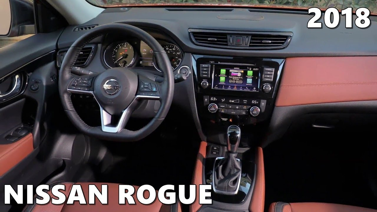 2018 nissan rogue interior tour space features. Black Bedroom Furniture Sets. Home Design Ideas