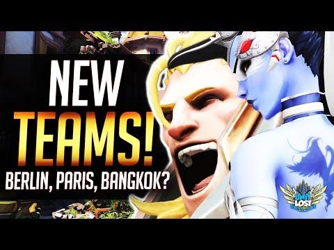 Overwatch League NEW TEAMS! Berlin, Paris, Bangkok?!