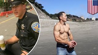 Hot Cop of Castro knocks down pedestrians and flees the scene on foot in hit-and-run - TomoNews