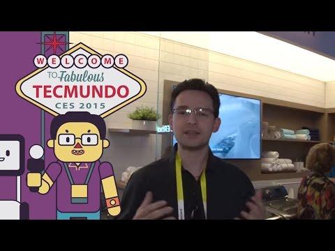 Os eletrodomésticos da Samsung na CES 2015 [vídeo]