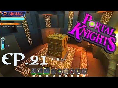 "Portal Knights Ep. 21 ""Curse Of C'thiris Chromatic Energy Armor!!"" PC Gameplay Walkthrough"