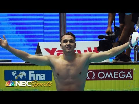 Michael Phelps' 200m fly world record shattered by 19-year-old Kristof Milak | NBC Sports