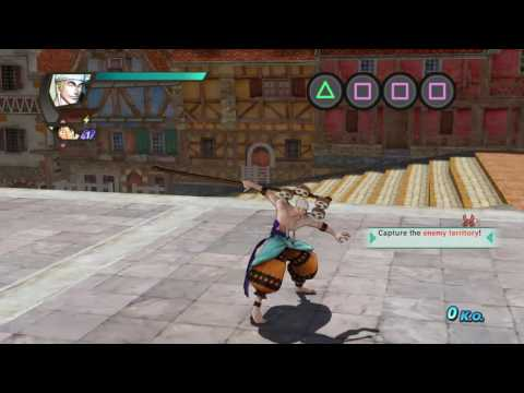 ONE PIECE: Pirate Warriors 3 | Enel moveset showcase 「ワンピース 海賊無双3」