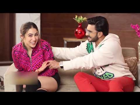Must Watch Ranveer Singh And Sara Ali Khan Most Funny Interview  Of 2018|Simmba Interview