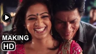 Chennai Express song One two three four making: Shahrukh Khan and Priyamani try to perfect the steps