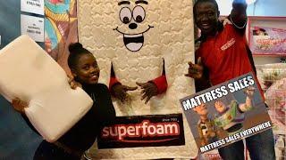 HUGE SALE!SUPERFOAM MATRESSES AT KENYA HOME EXPO.