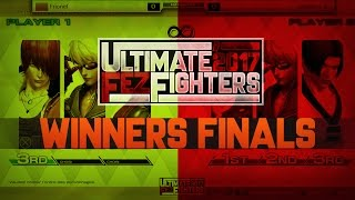 【Winners Finals】 Frionel vs Ichisim - Ultimate Fez Fighters 2017 #KOFXIV