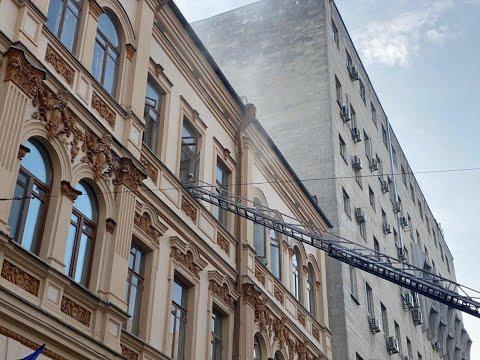 У будівлі Міністерства культури спалахнула пожежа