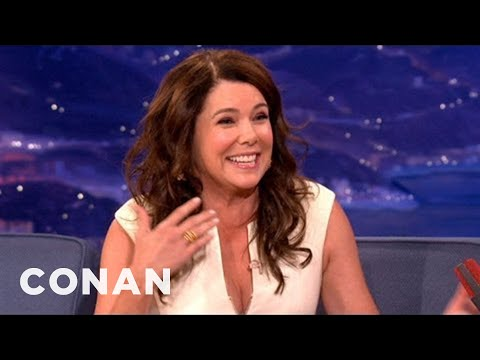 Lauren Graham Has Complicated Feelings About Ray Romano  CONAN on TBS