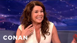 Lauren Graham Has Complicated Feelings About Ray Romano - CONAN on TBS