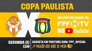 Atibaia 1 x 0 São Caetano - Copa Paulista 2018