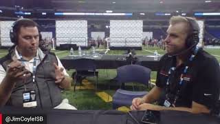 Live from B1G Media Days - Interview with Sammy Jacobs of Hoosier Huddle