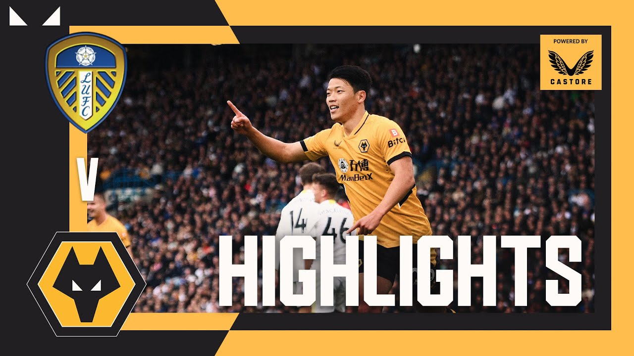 Download HWANG SCORES AGAIN!   Leeds United 1-1 Wolves   Highlights
