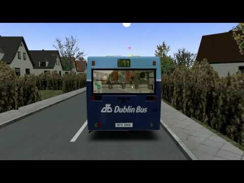 Omsi Bus Simulator Man NL 202 Dublin Bus Route 11 to Wadelia Park