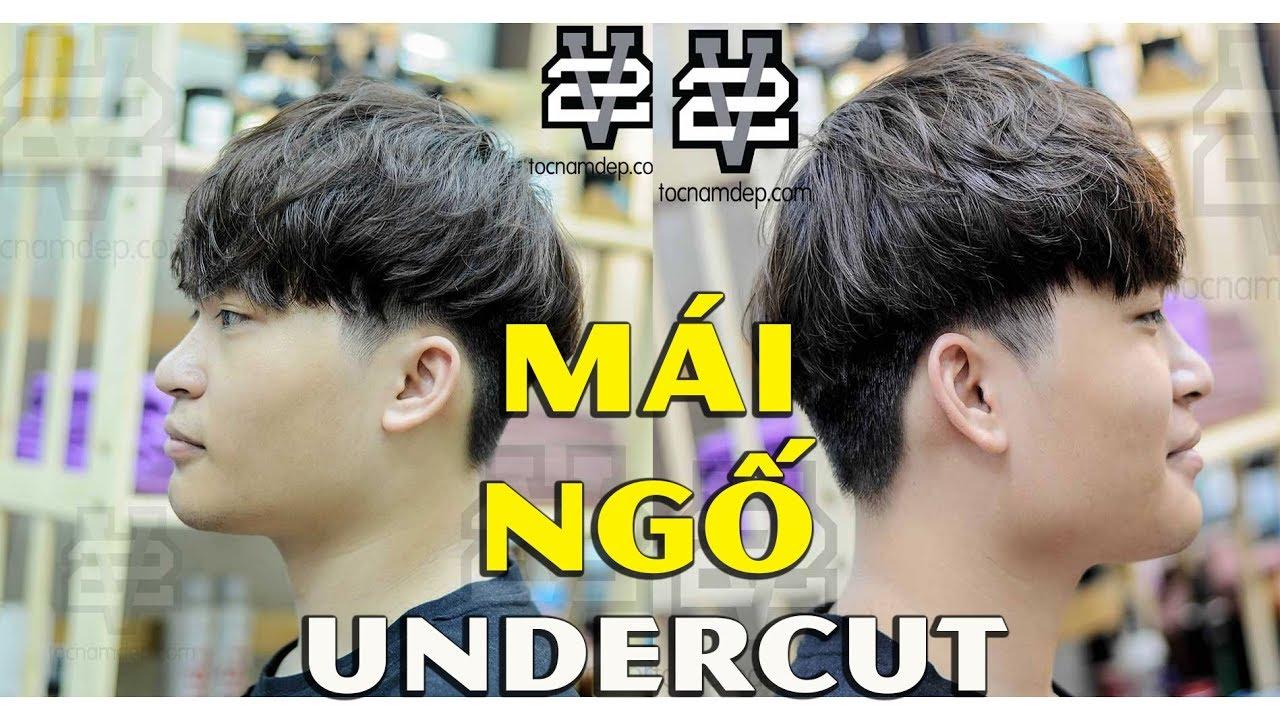 [BST] Những kiểu tóc UNDERCUT MÁI NGỐ đẹp nhất   Beautiful Channel   Tóm tắt những nội dung nói về kieu toc mai ngo nam đầy đủ
