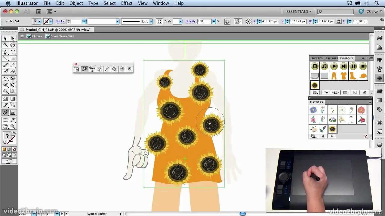 Illustrator creating textures and patterns with the symbol illustrator creating textures and patterns with the symbol sprayer tool biocorpaavc