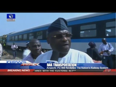 FG Flags Off Rail Transportation Between Aba And Port Harcourt 18/12/15