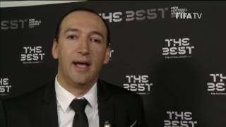 Dr Carlos de La Cuesta - Post Award Reaction - THE BEST FIFA FOOTBALL AWARDS 2016