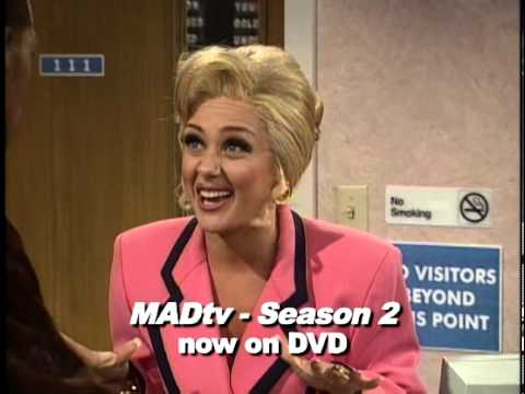 MADtv Season 2 (1/4) The Vancome Lady at the Betty Ford Center (1996)