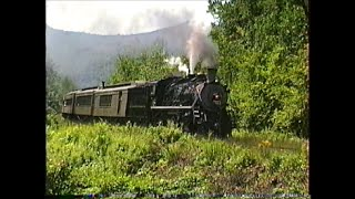 STEAM! NYSW #142 on the Green Mountain RR  08/01/1998