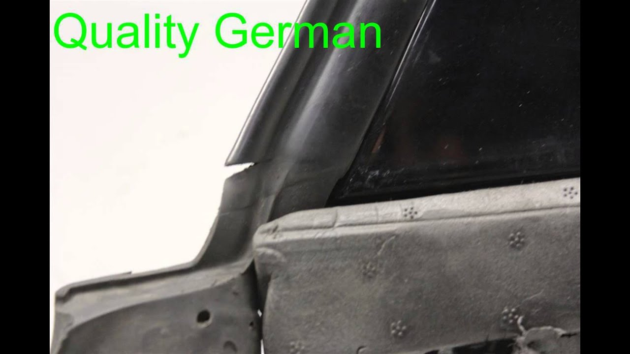 2004 Audi A8 AUDI Door RH REAR WINDOW FRAME 4E0867416B