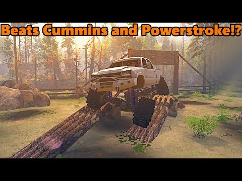 Spin Tires DURAMAX Beats CUMMINS AND POWERSTROKE!?