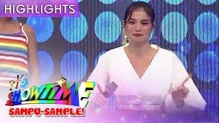 Anne tries famous Sexbomb dance craze | It's Showtime Sampu-Sample