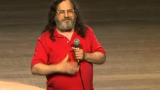 Richard Matthew Stallman en el Perú conferencias 2012