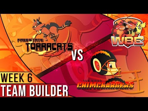 LET'S GOOO! Freestate Torracats VS San Diego Chimchargers Team Builder [WBE S02W06]