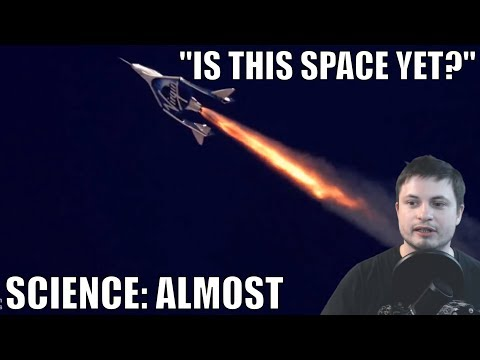 According to Science Virgin Galactic Pilots Didn't Reach Space...yet