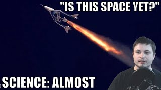 According to Science Virgin Galactic Pilots Didn
