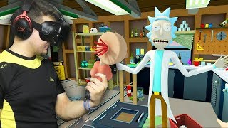 Rick and Morty: VR #1 | Развлекаюсь с плюмбусом | HTC VIVE | Упоротые игры