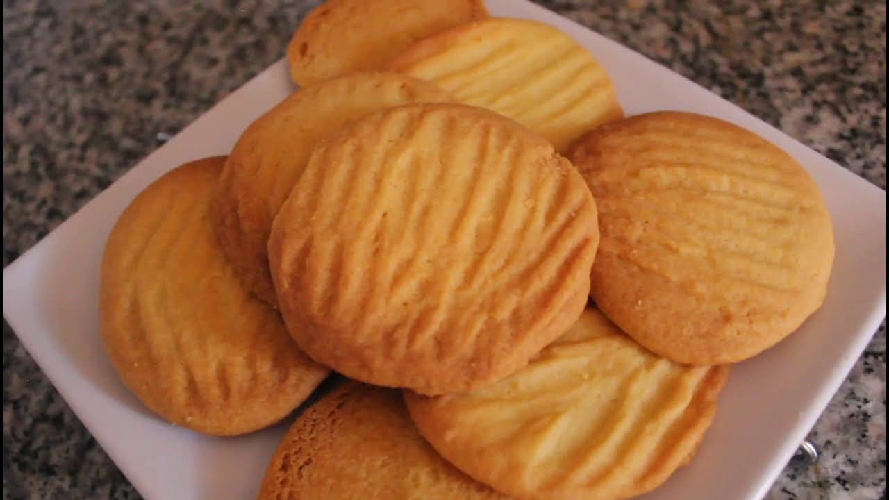 Simple Biscuits Recipe 3 Ingredients Youtube